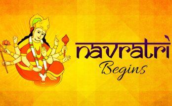 Navratri Begins - Hindus Festival 2019