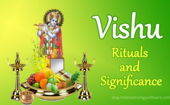 Vishu rituals and significance