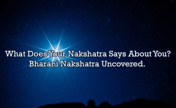Bharani Nakshathra - Vedic Astrology Blog