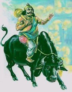 Bharani Nakshatra - God of Death - Lord Yama