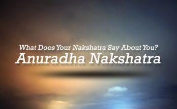 Anuradha Nakshathra