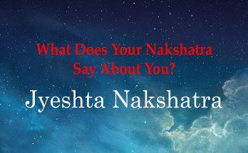 Jyeshta Nakshatra - Vedic Astrology Blog