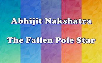 Abhijit Nakshatra - Vedic Astrology Blog