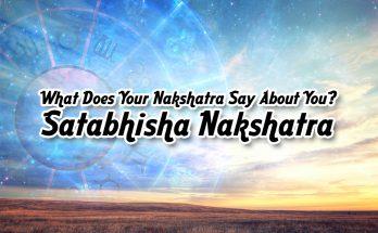 Satabhisha Nakshatra - Vedic Astrology Blog