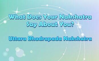 Uttara Bhadrapada Nakshatra
