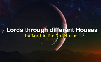 1st Lord in the 3rd House