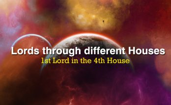 1st Lord in the 4th House