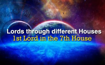 1st Lord in the 7th House - Vedic Astrology