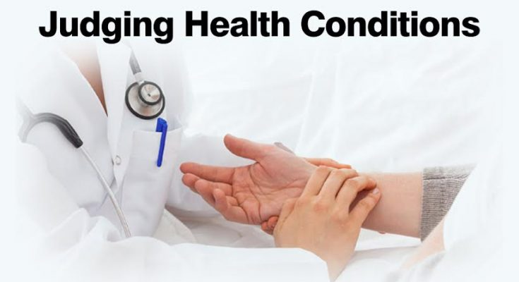 Judging health condition