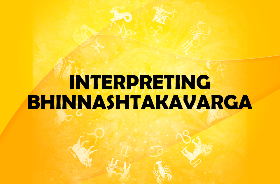 Interpreting Bhinnashtakavarga - Vedic Astrology Blog