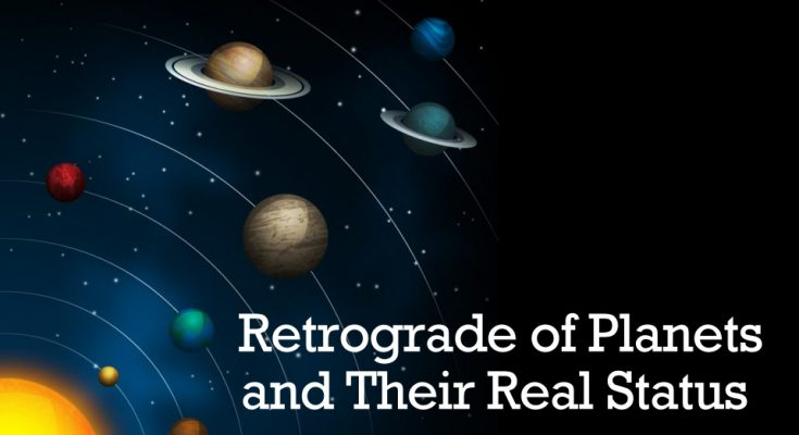 Retrograde of Planets
