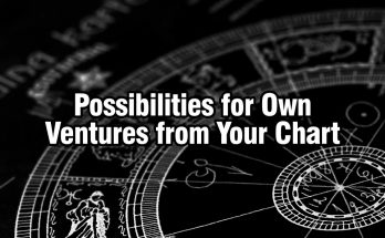 Astrology Chart - Ventures Opportunities