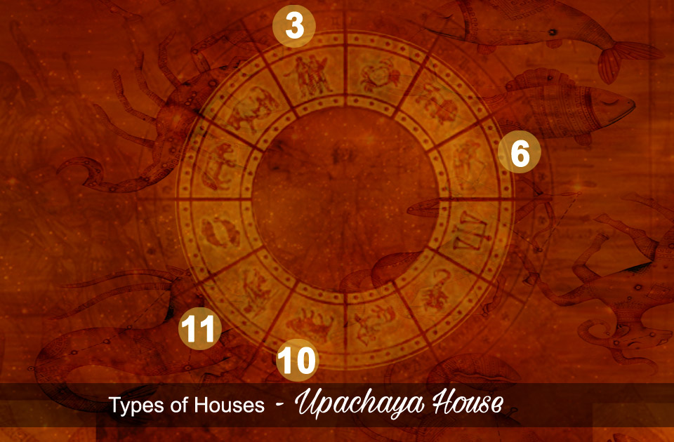Types of Astrology Houses - Upachaya House