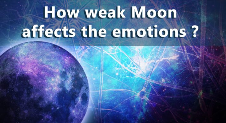 How Weak Moon Affects The Mental Emotions (part1)
