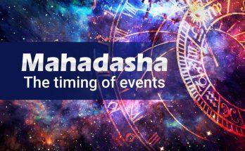 Mahadasha - The timing of events