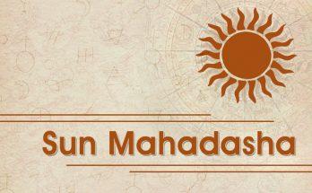 Sun Mahadasha