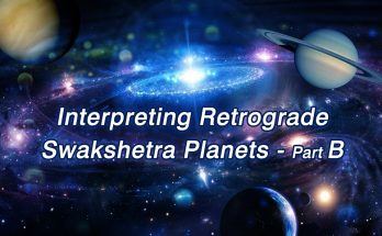 Interpreting Retrograde Swakshetra Planets - Part B