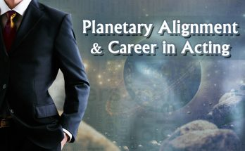 Planetary Alignment and Career in Acting