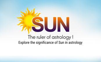Sun, the ruler of astrology