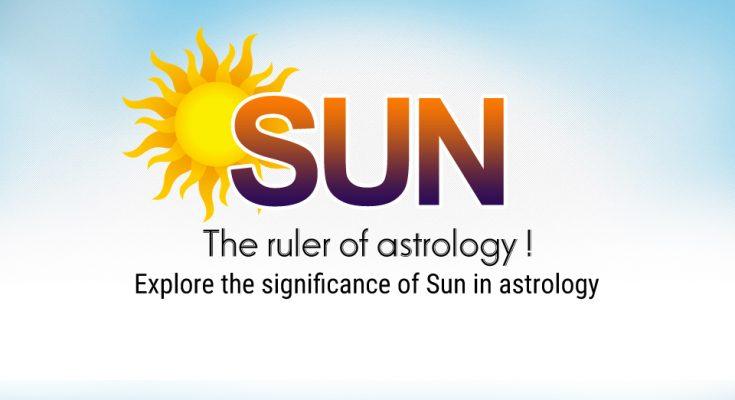 Sun, the ruler of astrology