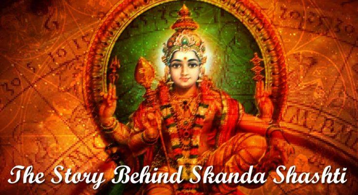 The story behind skanda shashti