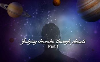 Judging character through planets-part1