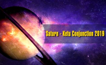 Saturn - Ketu Conjunction 2019