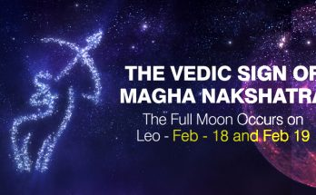 Vedic Sign of Magha Nakshatra - Full Occurs on Leo