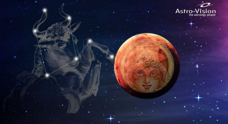 Mars Enters Taurus 2019