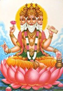Brahma - God of Ugadi Celebration