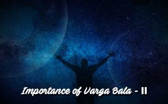 Importance of Varga Bala - II