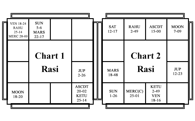 Natal Horoscope - Chart 1