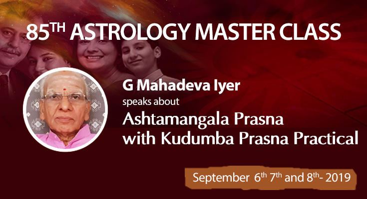 Astro-Vision's 85th Astrology Master Class | For Register