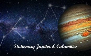 Stationary Jupiter and Calamities