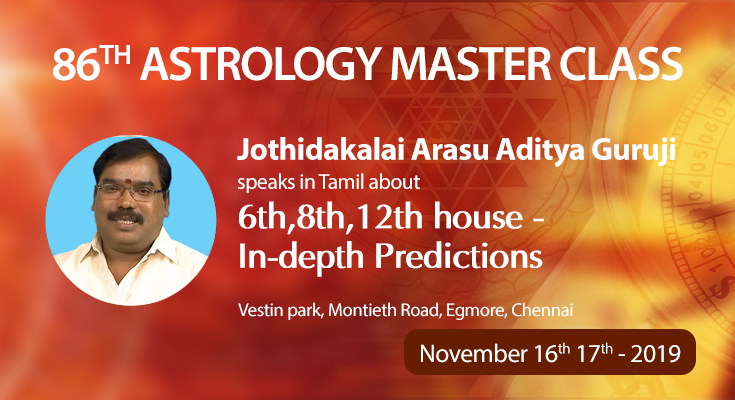 86th Astrology Master Class in Chennai