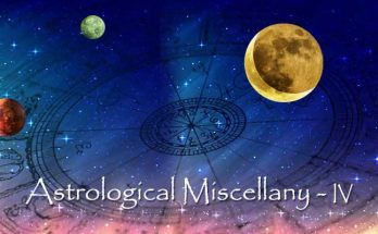 Astrology Miscellany - Part IV - Modern Astrology Updates
