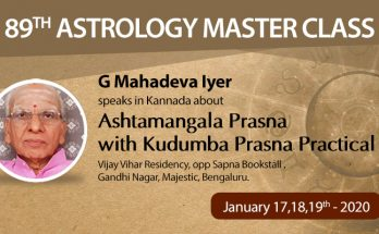 89th Astrology Master Class