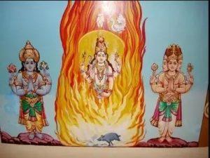 Lord Vishnu and Bramha Story
