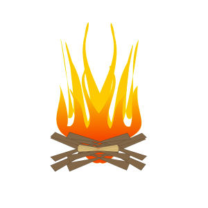 Bone fire - Lohri 2020