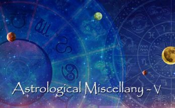Astrological Miscellany - V - Marriage astrology