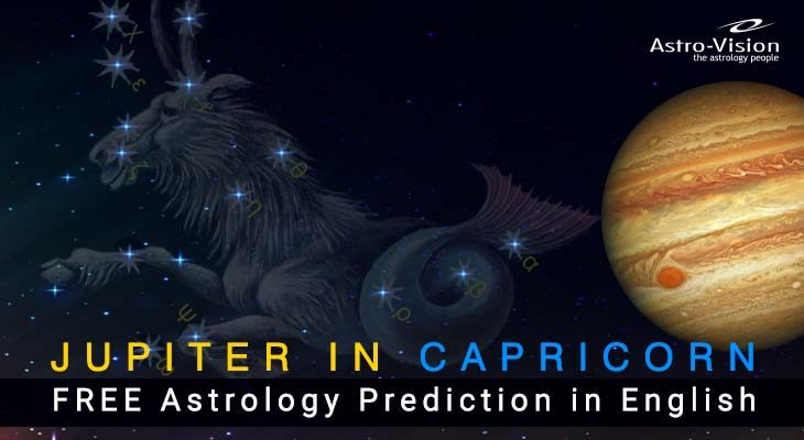 Jupiter in Capricon - FREE Astrology Prediction