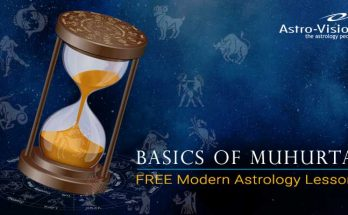 Basics of Muhurta - FREE Modern Astrology Lesson