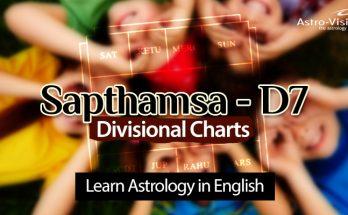Sapthamsa D7 - Vedic Astrology