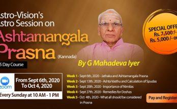 Ashtamangala Prasna - Kannada Astro Session