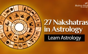 27 Nakshatras in Astrology