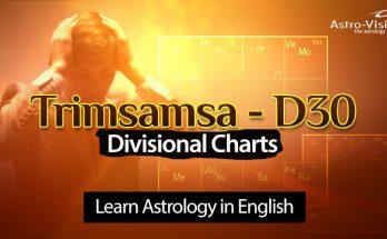 Trimsamsa D30 - Divisional Charts