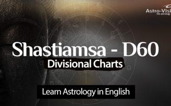 Shastiamsa - Vedic Astrology