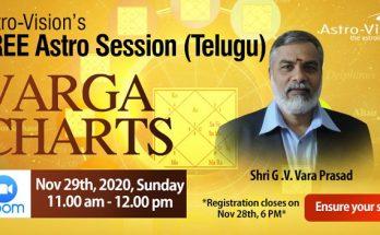 Varga Chart - Telugu Astro Session