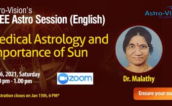 Telugu Astro Session - Medical Astrology